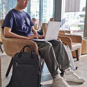Balo Laptop 15 inch Wiwu đen B035