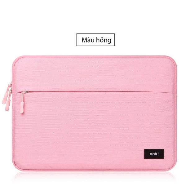 tui chong soc anki danh cho macbook 13 15 15 6 inch mau hong