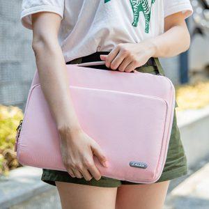 Túi xách chống sốc Kalidi K346 – 13.3 inch (Pink)