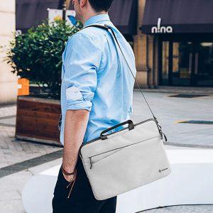 Túi đeo chống sốc Tomtoc A45 - Gray