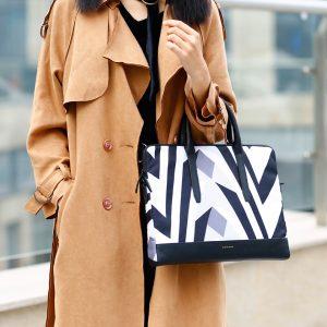 Túi xách chống sốc dành cho nữ Cartinoe Zebra 13 inch