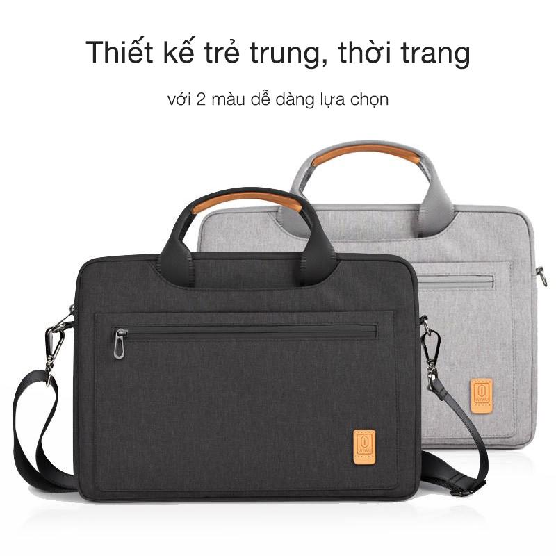 Túi xách Wiwu Pioneer Shoulder có 2 màu lựa chọn