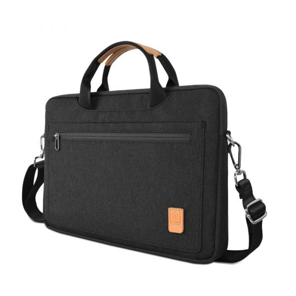 Túi xách chống sốc Wiwu Pioneer Shoulder W348 (Black) : 15 inch