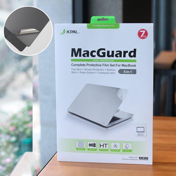 Dán Bảo Vệ MacBook JCPal MacGuard 5 in 1 (Màu Grey)