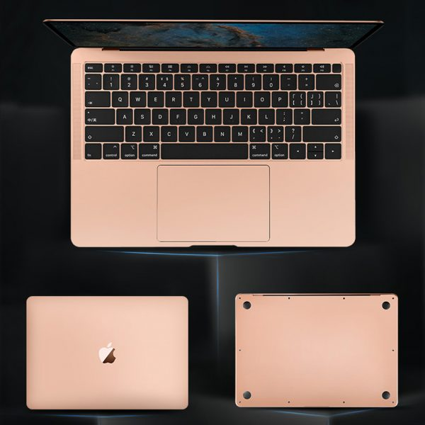 Bộ dán Macbook Full Body 5 in 1 – JRC (Màu Gold)
