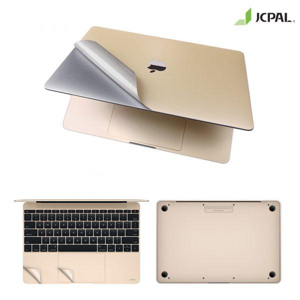 Bộ dán bảo vệ Macbook (Gold) - JCPal MacGuard