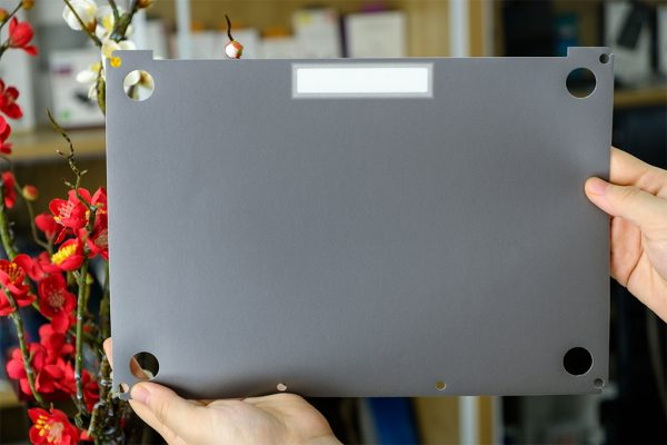 Dán mặt sau Macbook (Gray) - JCPal MacGuard