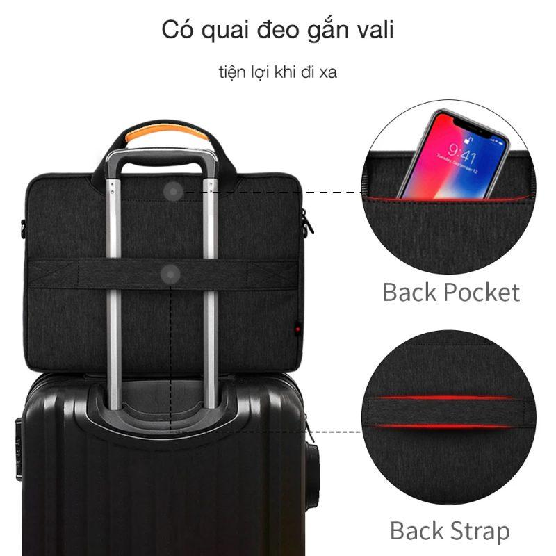Tiện lợi hơn với quai đeo gắn vali