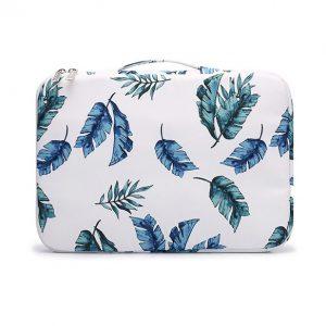 Túi chống sốc Laptop 13 - 15 inch - KinMac họa tiết lá chuối (KM037)