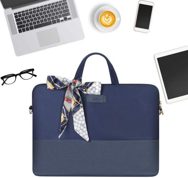 Túi xách Laptop thời trang nữ - Kamlui KL034 (Blue)