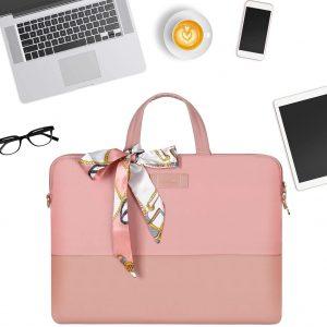 Túi xách Laptop dành cho phụ nữ – Kamlui (KL034 – Pink) 13 inch