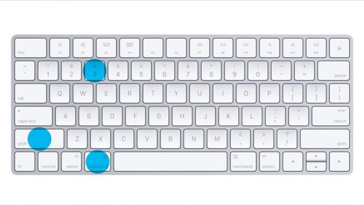 Phím tắt Chụp màn hình Macbook