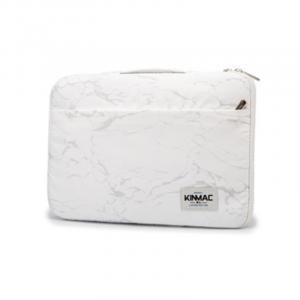 Túi chống sốc Laptop 13 - 15.6 inch - KinMac Vân đá trắng