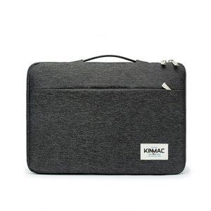 Túi chống sốc Laptop 13 - 15 inch - KinMac Canvas đen (KM041)