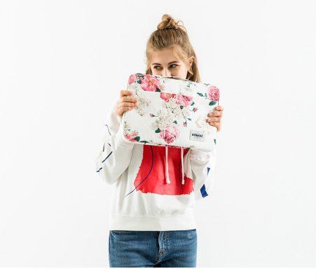 Túi đựng Laptop Họa tiết hoa hồng đặc biệt cho nữ
