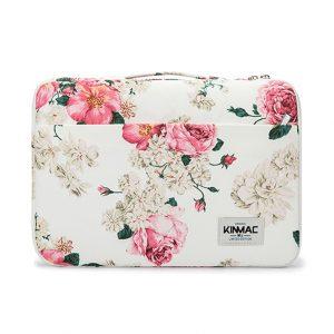 Túi chống sốc Laptop 13 - 15 inch - KinMac họa tiết hoa hồng