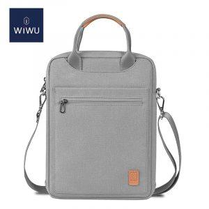 Túi đeo dọc Wiwu Vertical màu xám