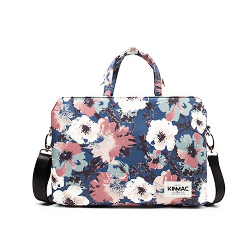 Túi đeo Laptop Mẫu hoa hồng phai - KinMac KM048