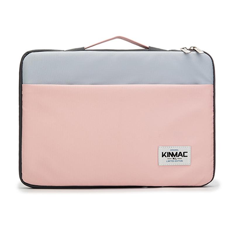 Túi xách Laptop nữ chống sốc KinMac Hồng xanh 13 - 15.4 inch
